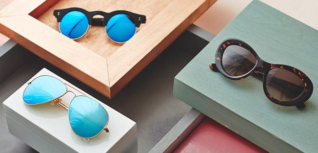 Sunglasses by Shape: Cat-Eye, Aviator, & Round