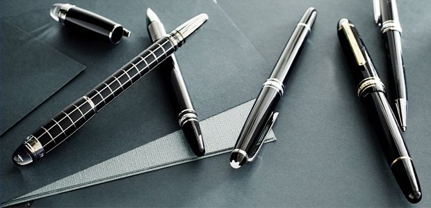 Sign Here: Writing Instruments Featuring Montblanc