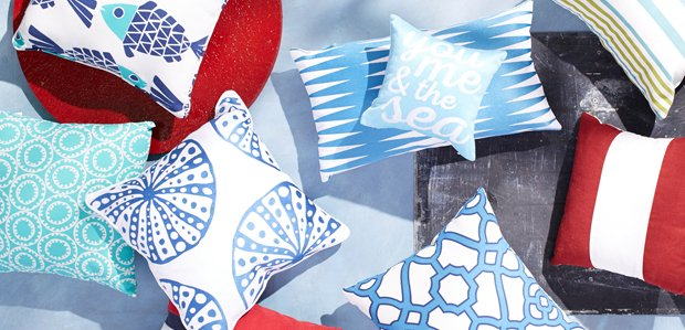 Nautical Pillows: Say