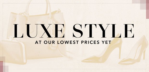 The Rue Warehouse Sale: Luxe Edition