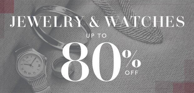 The Rue Warehouse Sale: Jewelry & Watch