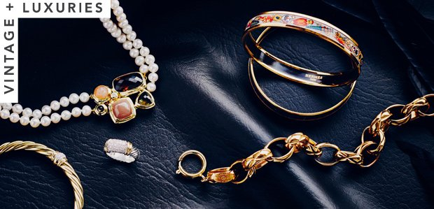 Estate Jewels: David Yurman, Cartier, & More
