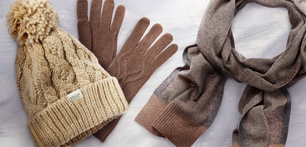 Cold-Weather Musts: Cozy Hats to Scarves