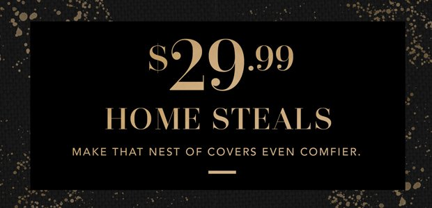 The Holiday Hangover Sale: Home Edition