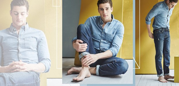 Own Casual Cool: Men's Jeans to Button-Downs