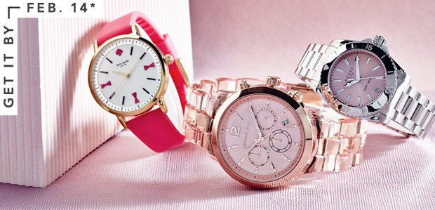 In the Nick of Time: Watches for Your Valentine