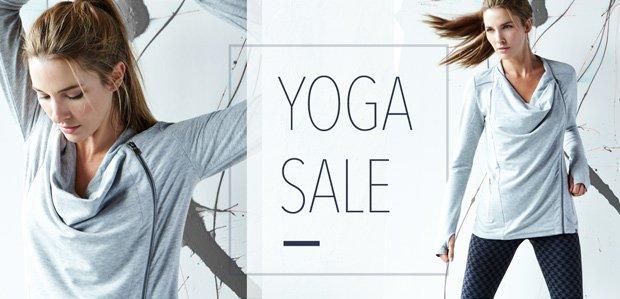 The Yoga Sale. Namaste.