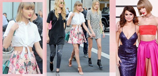 #SquadGoals Style Inspired by Taylor Swift & Friends