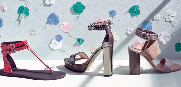 Five-Star Sandals Featuring Brunello Cucinelli