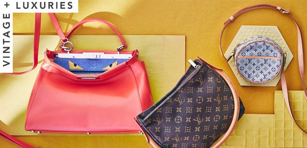 Calling All Luxe Lovers: Vintage Louis Vuitton & More
