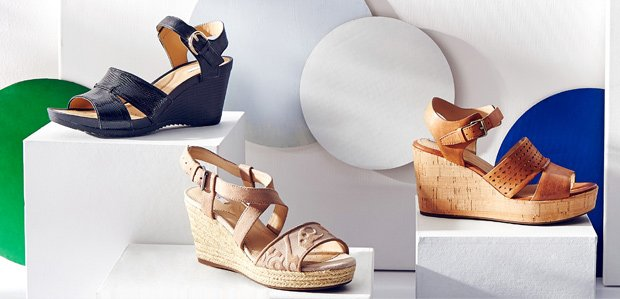 Wedges You Can Really Walk In: Featuring Geox