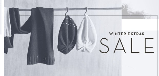 WINTER EXTRAS SALE: Heat things up.