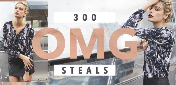 300 OMG Steals: Get. In. Here.