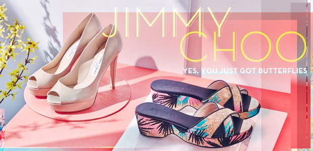 Jimmy Choo Shoes, Handbags, & More