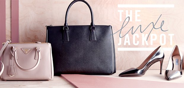 The Luxe Jackpot. Styles up to 70% off.