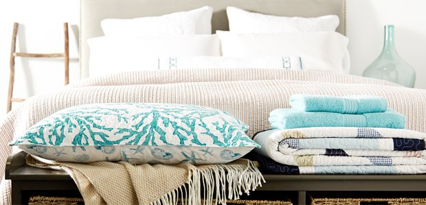 Bring the Beach Home: Coastal Bed & Bath
