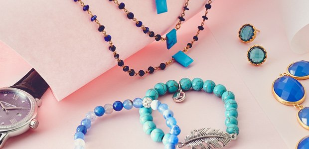 Obsessing Over Blue Jewelry & Watches
