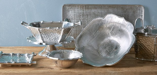 Make the Table Shine: Metal Serveware Featuring Nambe