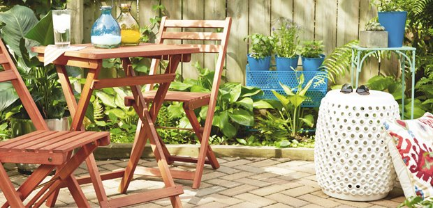 Deck Out the Patio for Spring: Furniture to Decor
