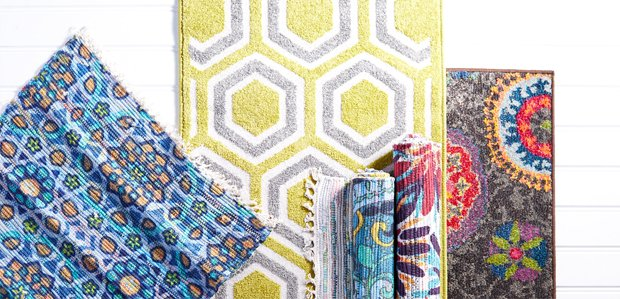 Color Your Floors: Rugs Featuring Pantone Universe