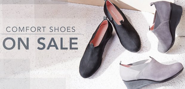 Steal Some Softness: Comfort Shoes