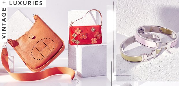 Hermes & More Vintage Luxuries