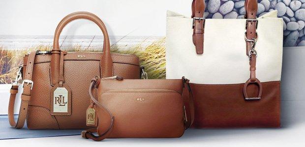 Have-Forever Bags Featuring Lauren Ralph Lauren
