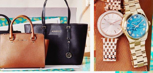 Michael Kors Handbags, Eyewear, & More