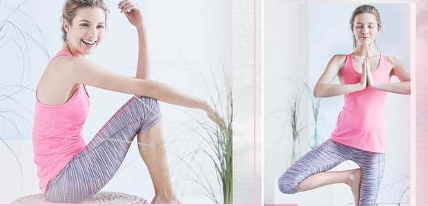 Bally Total Fitness Yoga Clothing