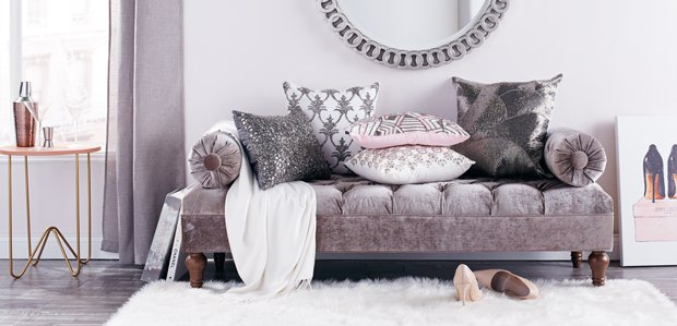 Glam Furniture & Decor That Up the Glitz Factor
