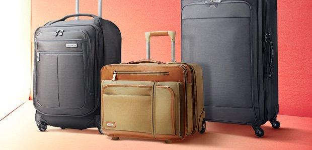 Ready, Set, Jet: Luggage by Samsonite & More