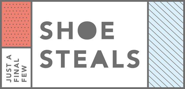 Just a Final Few Shoe Steals