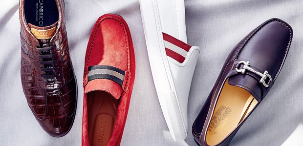 Up Your Shoe Game: Bally, Caporicci, & More