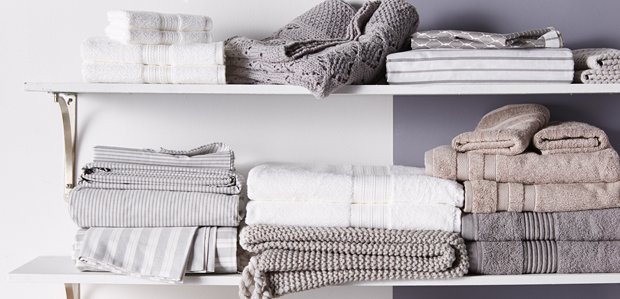 Stock the Linen Closet: Sheets to Towels