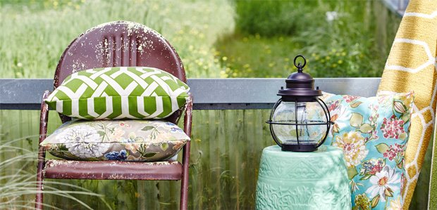Set the Patio Scene: Outdoor Lighting to Rugs
