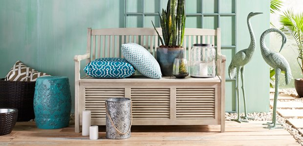 Spruce Up Your Outdoor Space: Rugs, Pillows, & More
