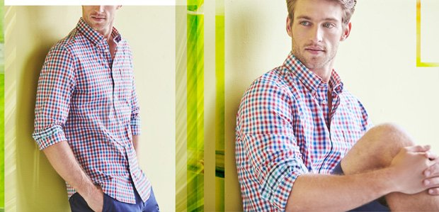 Check & Check: Gingham & Plaid for Men