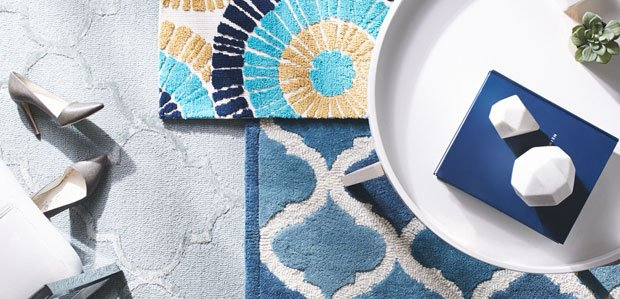 Color the Floors: Rugs in Every Shade