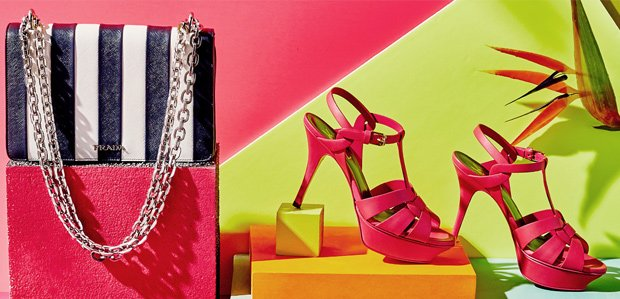 Haute Brights to Stripes Featuring Saint Laurent