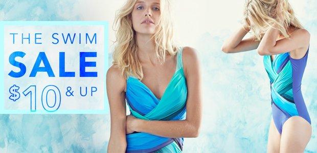 $10 & Up: The Swim Sale