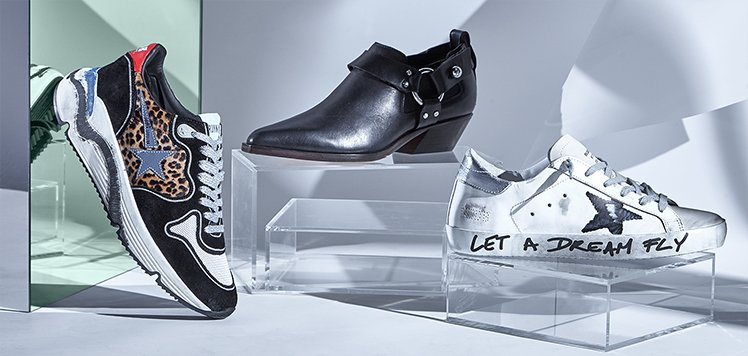 Golden Goose & More Trend-Forward Shoes