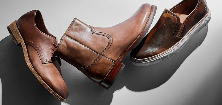 Frye & More: Men's Boots Made for Fall