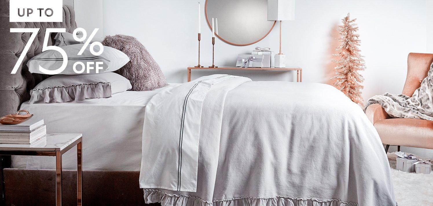 Bedding & Bath With Frette