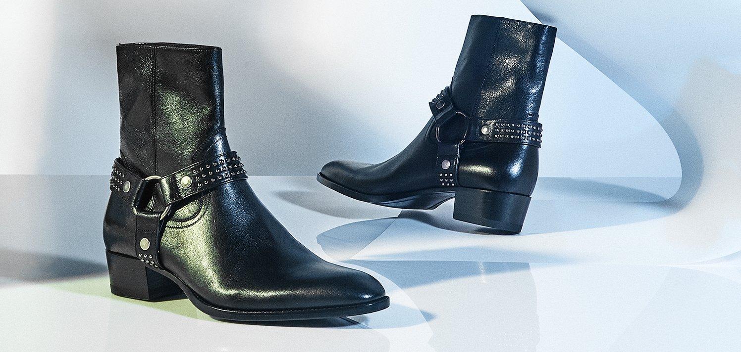 Saint Laurent & More Men's Luxe Shoes