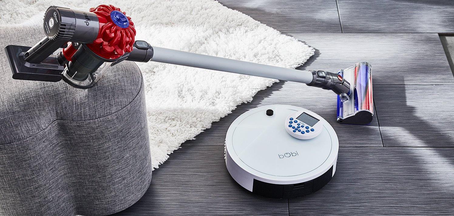 Spring-Cleaning Secrets With Dyson to bObsweep