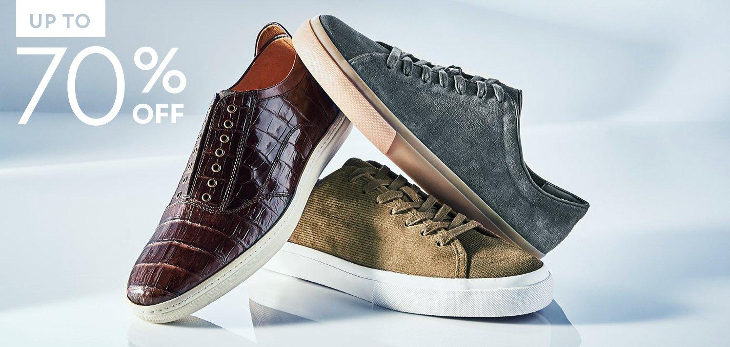 Insiders Only: Men's Designer Shoe Finds
