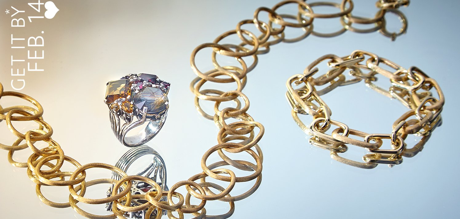 Fine Jewelry: Just in Time for Valentine's Day