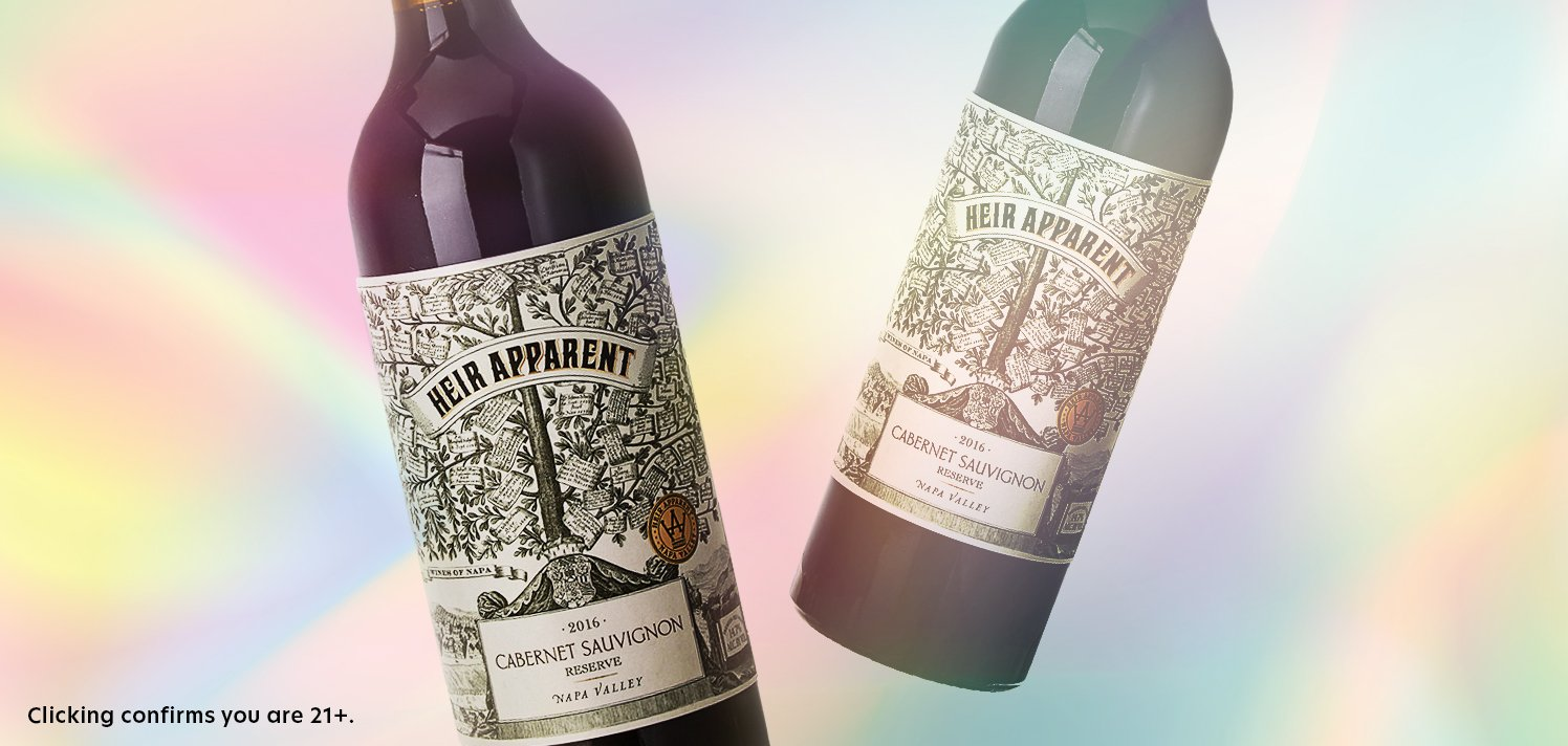 92-Point Napa Cabernet From Heir Apparent Winery