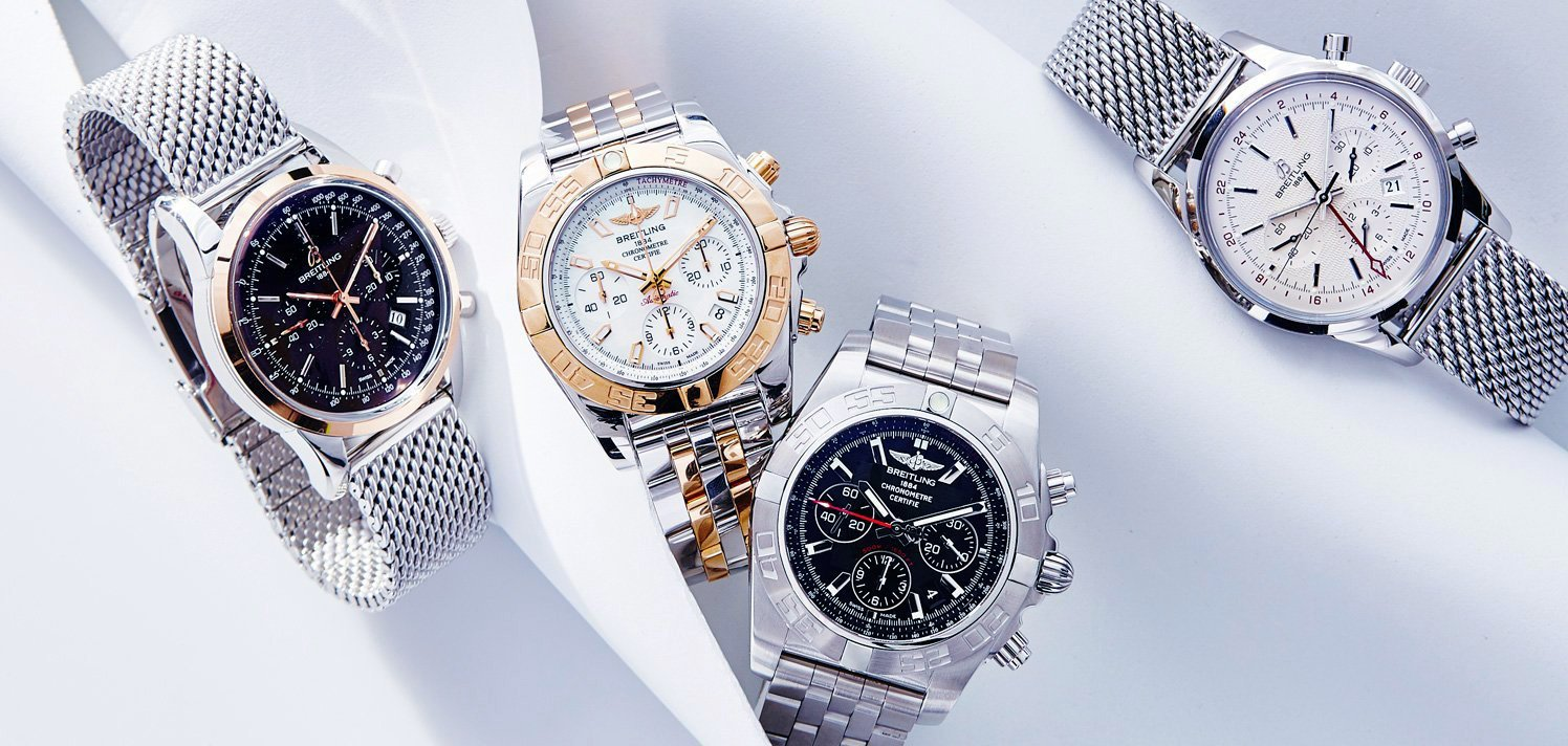 Vintage Patek Philippe to Breitling With New-to-Site Styles