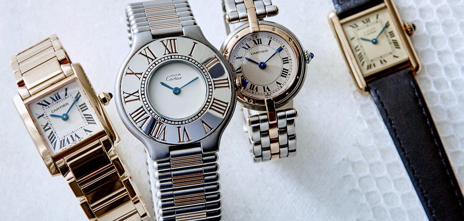 The Watch Vault: Cartier to Rolex